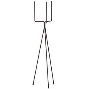 Plant stand large black