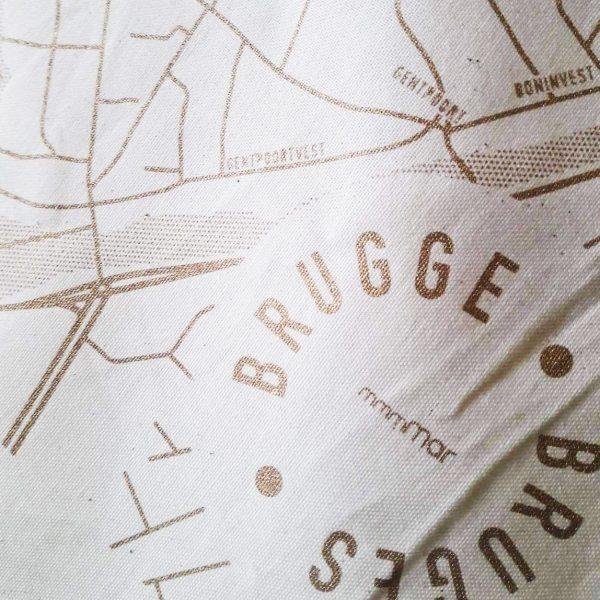 detail Brugge handdoek