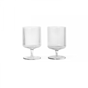 Ferm living ripple wine clear