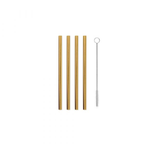 W&P design metal staw small gold