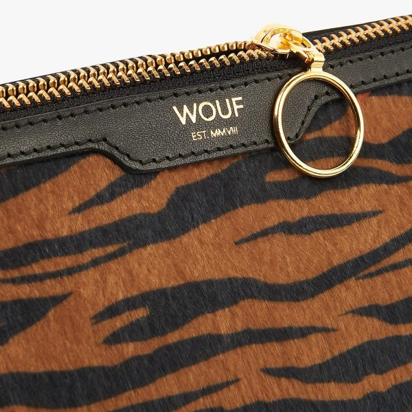 wouf tiger make up bag