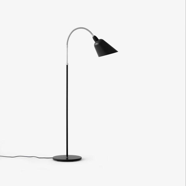 Bellevue floor lamp zwart staal
