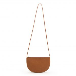 Monk en anna, farou half moon bag burnt orange