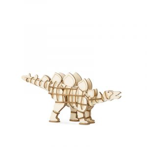 kikkerland 3D houten puzzel stegosaurus