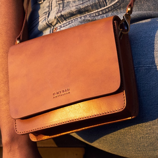 O my bag the audrey mini cognac