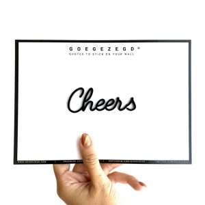 goegezegd cheers
