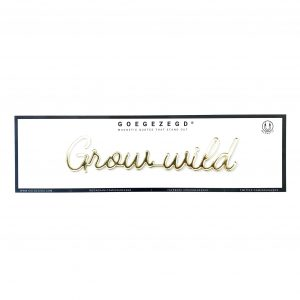 Goegezegd grow wild magneet