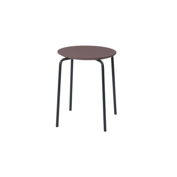 herman stool red brown ferm living