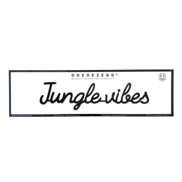 Goegezegd jungle vibes magneet