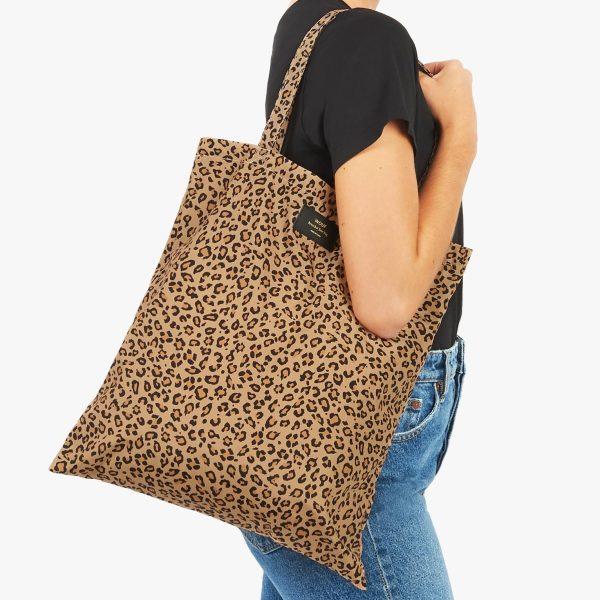 wouf safari tote bag