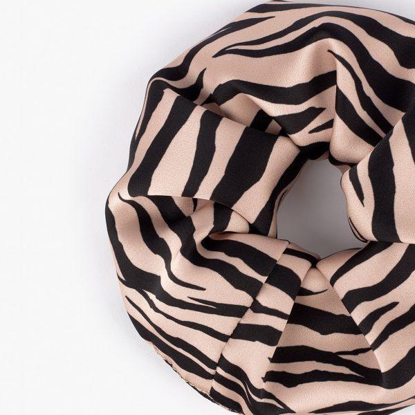 wouf soft tiger maxi scrunchie
