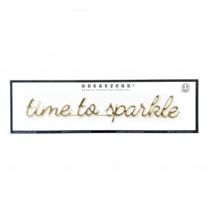 Goegezegd time to sparkle magneet