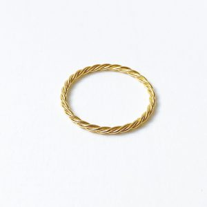 Nimzu twisted ring goud