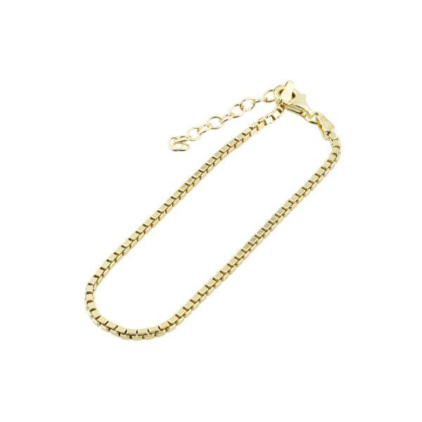 Nimzu rectangle armband goud