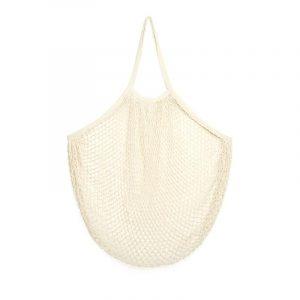 kikkerland XL cotton net carry-all bag