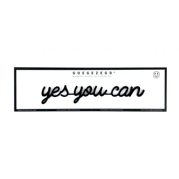 goegezegd yes you can magneet