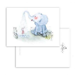leo la douce Elephant shower