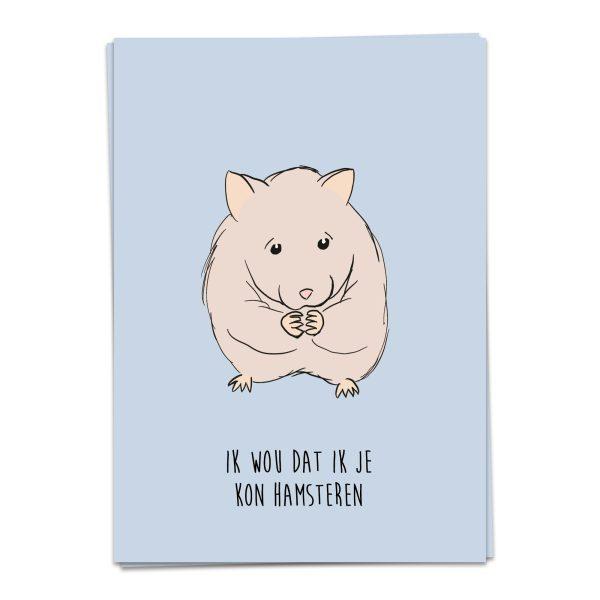 kaart blanche hamsteren