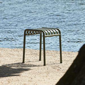 Palissade stool olijfgroen