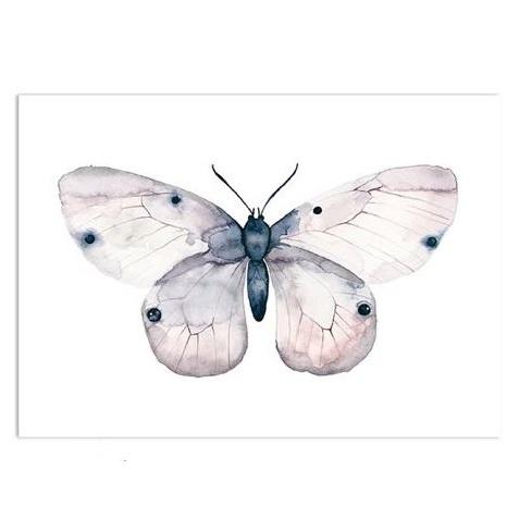 leo la douce vlinder roze