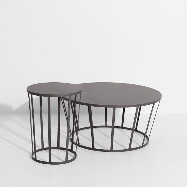 Hollo table set anthraciet