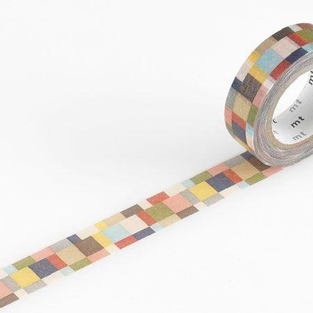 mosaic greyish