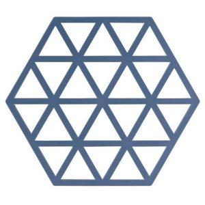 zone potonderzetter triangles denim