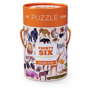 wild animals puzzel