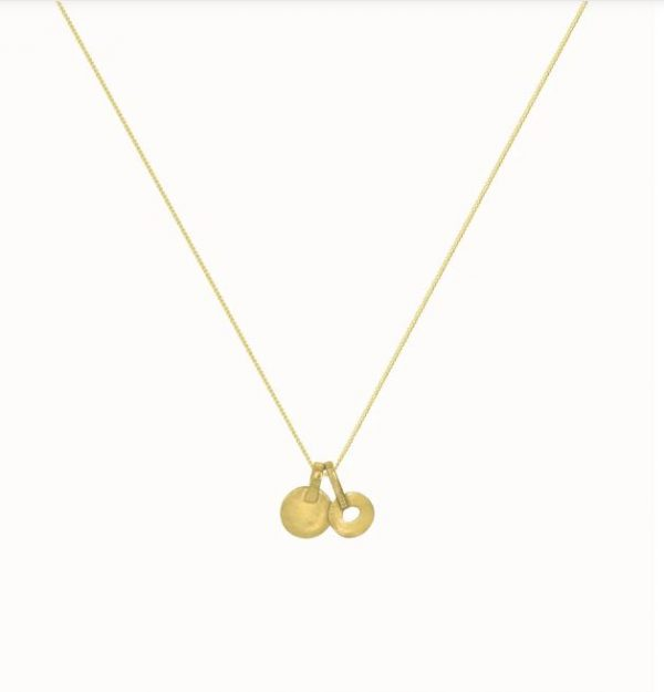 Flawed charms ketting gold