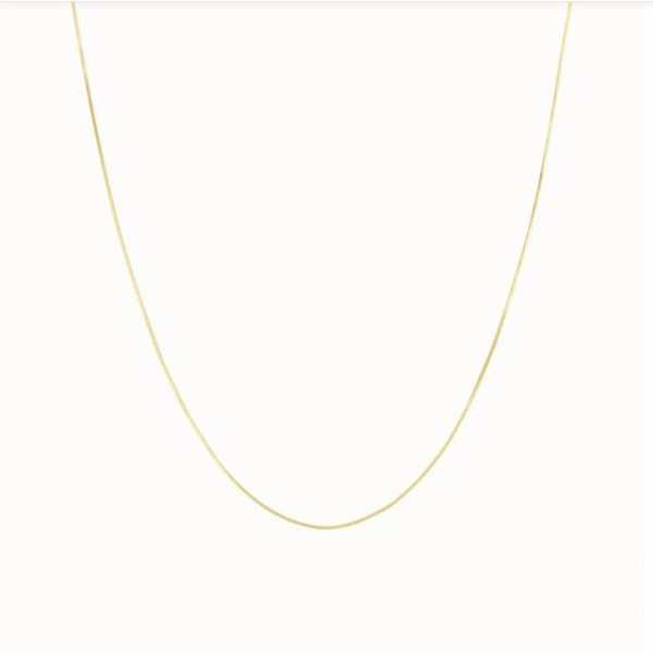 Flawed Plain affair ketting goud