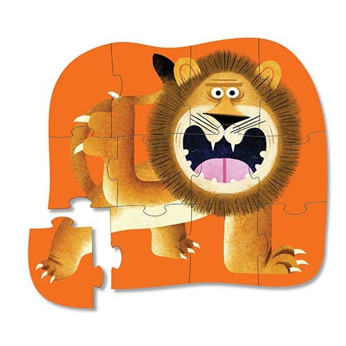 mini puzzel lion roar