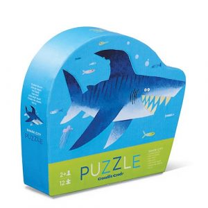 mini puzzel shark
