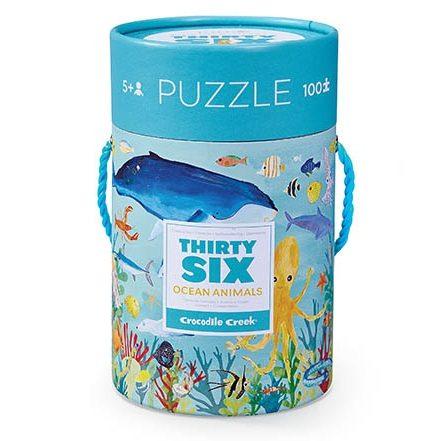 ocean animals puzzel