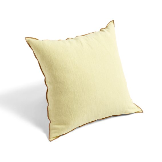 Hay Outline Cushion lemon sorbet