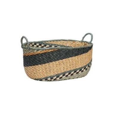 HUbsch Basket green large