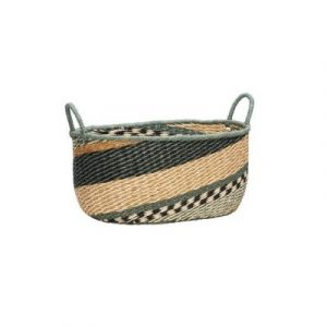 HUbsch Basket green medium