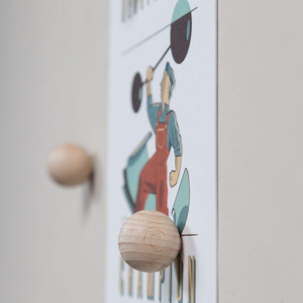 groovy magnets houten magneetbollen