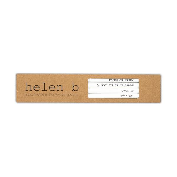Helen B Set van 4 potloden