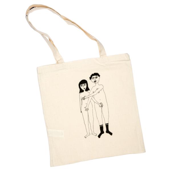 Helen b tote bag naked couple