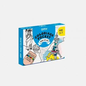OMY coloring pocket atlas