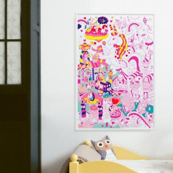kleurplaat lily OMY